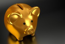 Piggy Bank Pensioen Sparen Geld Spaarpot