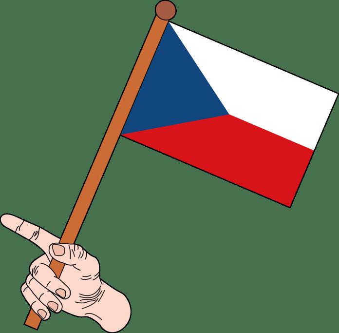 Vlag van Tsjechie