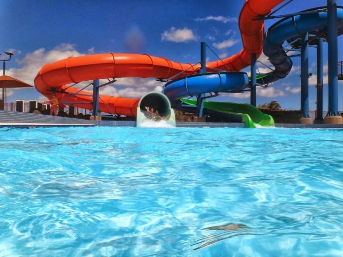 Waterglijbaan Waterpark Aquapark Zwembad Water Dia