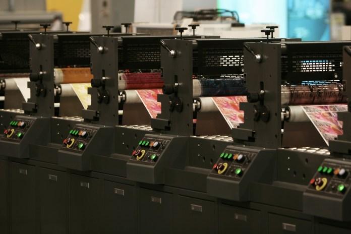 Afdrukken Grafische Industrie Printen Technologie Reproductie reprografie