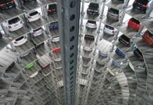 Auto's Technologie Vw Parkeergarage Magazijn Volkswagen Fabriek