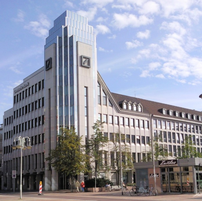 Gebouw Bank Architectuur Deutsche Bank Duitse