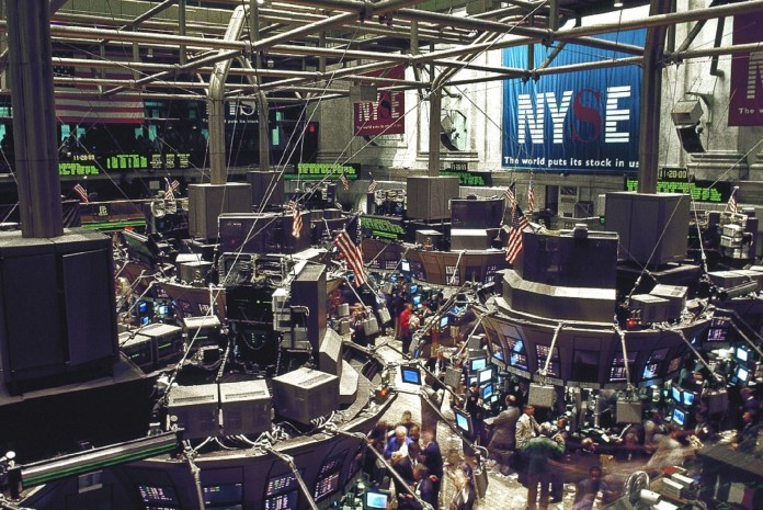 New York Stock Exchange Beursvloer NYSE Aandelenemissie