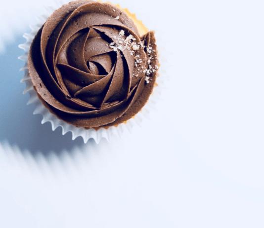 Teacakes Cake met Chocolade Muffin met Chococreme