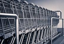 Winkelwagen Winkelen Supermarkt Aankoop