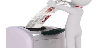 Fax Faxmachine Cartoon 3d Model