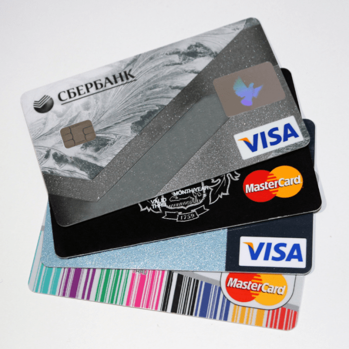 Kredietkaarten Creditcards Credit Cards VISA MasterCard