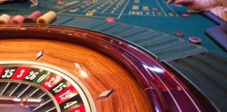 Roulette Kansspel Casino Bank Gebruik Jeton Plaats
