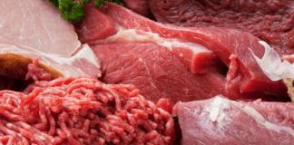 Verschillende soorten vlees