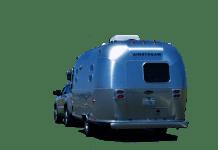 auto met airstream caravan autovakantie camperen