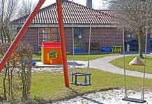 kinderdagverblijf peuterschool kleuterschool kinderopvang schommels speelhuisje