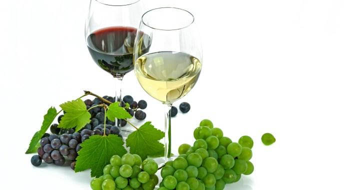 alcoholhoudende drank rode wijn witte wijn druiven