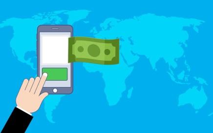 e-wallet geld overmaken telefoon app betalling online bank