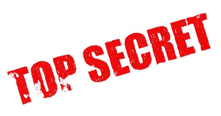 geheimhouding top secret geheim