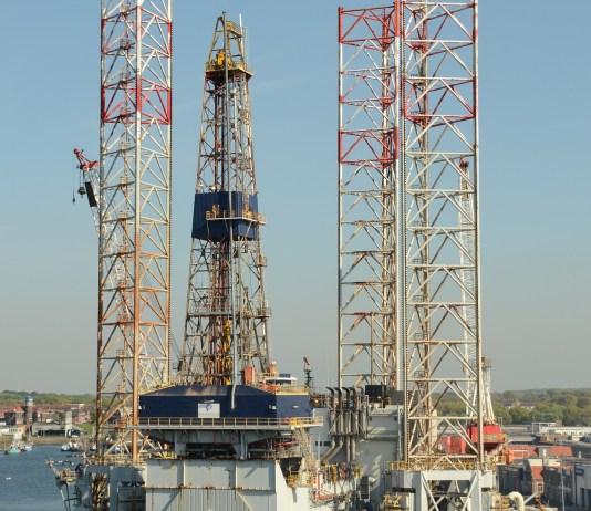 booreiland boorplatform offshore