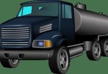 vrachtwagen truck brandstof transport tankwagen