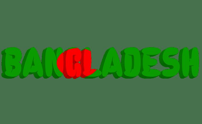 Bangladesh Land Vlag 3d