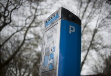 Parkeermeter Parkeerplaats Auto Blauw Klok