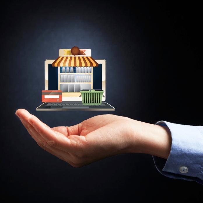E-commerce elektronische diensten afstandsverkopen digitaal online shoppen winkelen