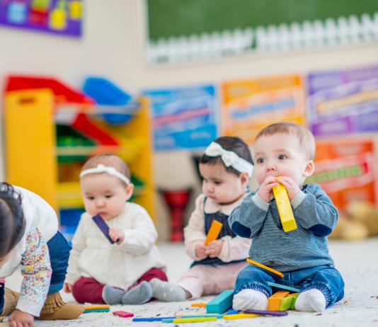 Kinderopvang kinderen kleuters peuters