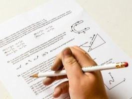 Examen Huiswerk School Probleem Nummer Papier Fysica