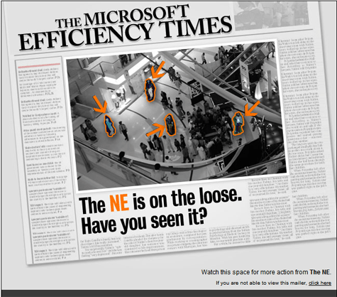 Microsoft NE Superhero The Microsoft Efficiency Times