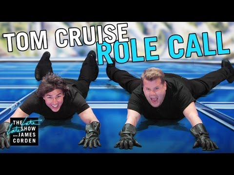 Tom Cruise acts out his entire film career with James Corden in just 9 minutes!