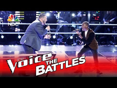 """The Voice"" epic battle on Adele's ""Hello"""