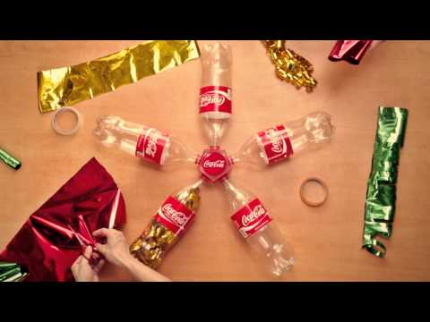 How To Make A Coca Cola Christmas Decor