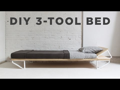 Making Your Bed With Just Three Power Tools