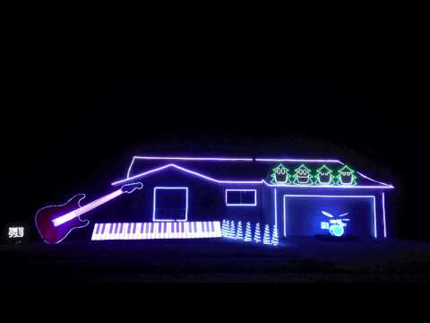 This Amazing Christmas Light Show is Hilarious