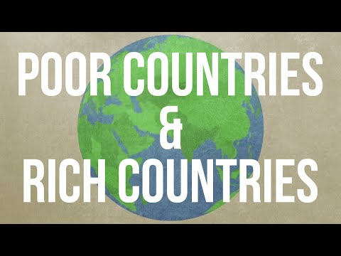 What Makes a Country Rich or Poor?