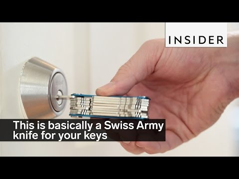 This is Basically a Swiss Army Knife For Your Keys