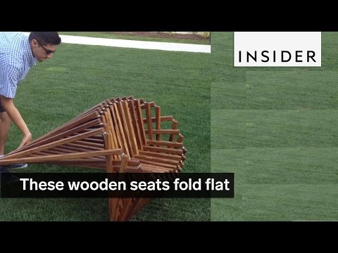 These Wooden Seats Were Inspired By Spiders