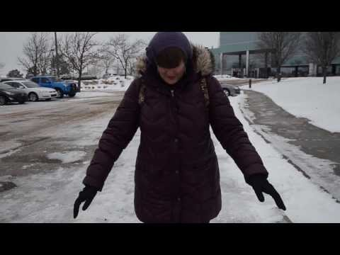 Winter Safety: Walk Like a Penguin