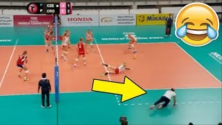 THIS IS FUNNIEST COACH IN VOLLEYBALL HISTORY !!! Funny Volleyball Videos (HD)