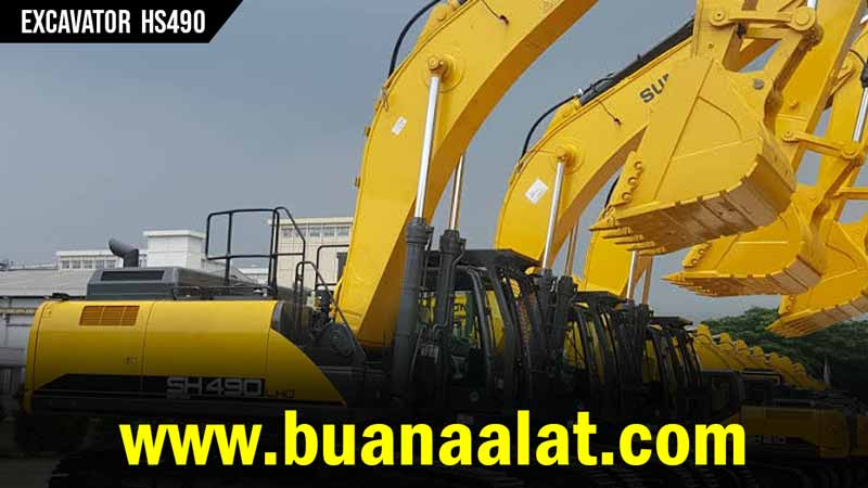 Jual Excavator Sumitomo HS490