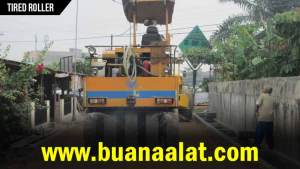 Sewa Rental Tired Roller Murah