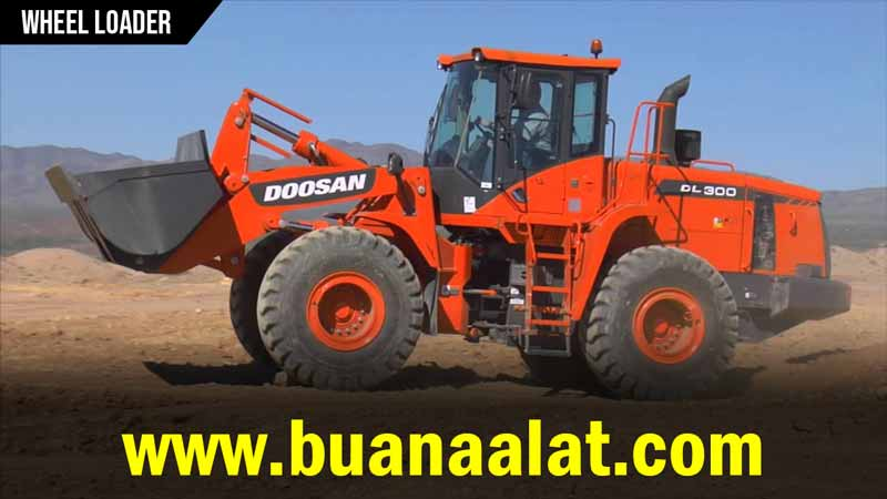 Sewa Rental Wheel Loader Murah