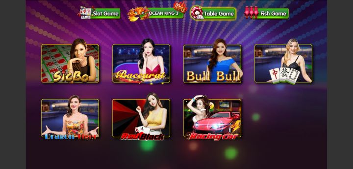 Pilihan Menu Permainan Table Game DeMacao White Label Online Gaming