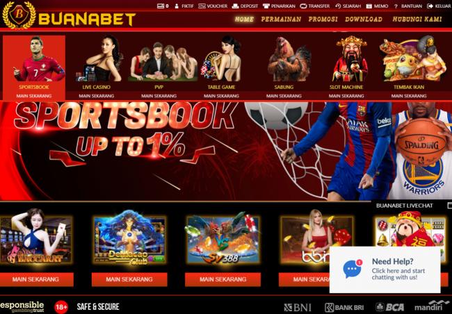 Pilihan permainan sportsbook