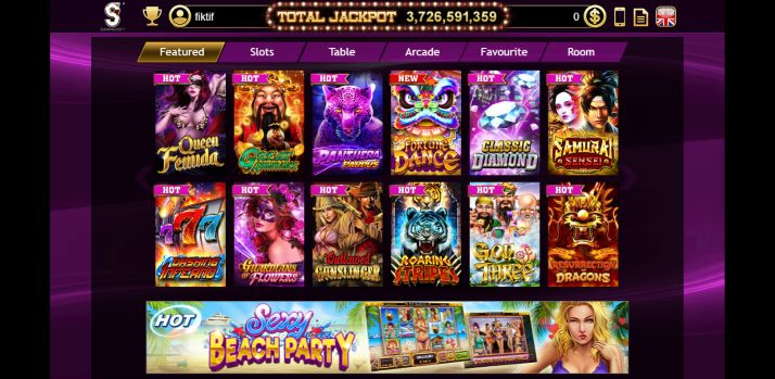 Pilihan Permainan Gamingsoft Casino Slot Jackpot Machine White Label