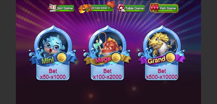 Pilihan Menu Permainan Fish Game DeMacao White Label Online Gaming