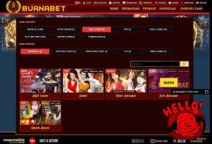 Pilihlah menu provider layanan sexy baccarat