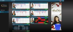 Tampilan Tabel Live Casino Dealer Live Golden Deluxe