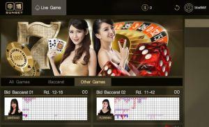 Pilih Other Games di SunBet