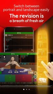 Tampilan Awal Mobile Casino Online