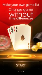 Tampilan Mulai Aplikasi Mobile Casino Online BB Games