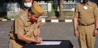 Bupati Garut Melantik 39 Pengawas Di Jajaran SKPD