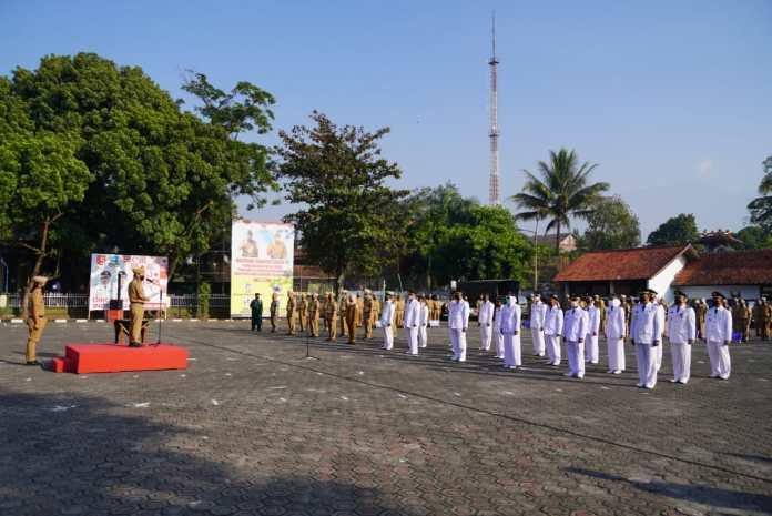 Bupati H Rudy Gunawan Lantik Pejabat di Linkup Pemkab